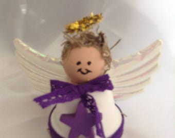 Little Clay pot Angel