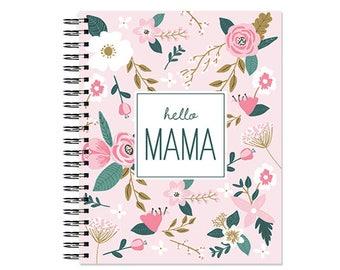 Hello Mama™ Brand Pregnancy Book, Baby Memory Book, Baby Book, Personalized Baby Book, The Sweet Rhino