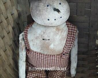 Herbert primitive snowman (NEW) #142