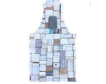 Cape Dutch House Block Art Recycled Wood
