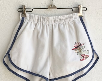 Vintage 1970's Dudley Do Right Gym Shorts size XS
