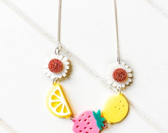 NECKLACE : Tutti Fruitti (5 Charms)