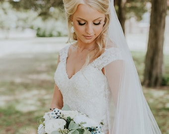 Sheer Soft Wedding Veil