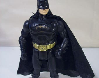 Vintage Batman Crime Attack Batman Action Figure, 1990  DC Comics, Kenner
