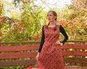 The Shining Hallway Carpet Print Dress / Winifred Dress