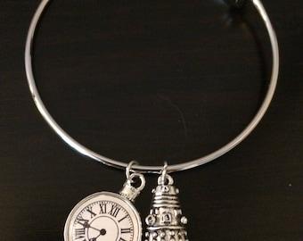 Adjustable Dr. Who bracelet