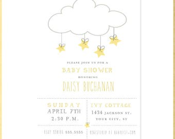 Twinkle, Twinkle Baby Shower Invitation