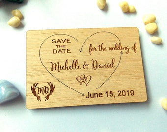 Save the Date magnet, Rustic save the date magnet, Fridge magnet save the date, magnet save our date, wood fridge magnet, fridge save date