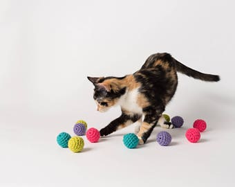 Bright Balls with Bells (set of 3)