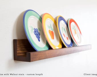 Floating Picture Ledge, Wall Picture shelf, Picture Shelves, Wooden Wall Shelves, Minimalist Shelves, Modern, Unique Shelf, 1 Picture Stand