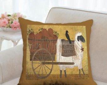 Harvest Thyme Designer Pillow