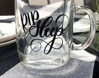 Glass Calligraphy Coffee Mug, Lettered Mug, valentines day, girlfriend gift, youre brewtiful, warm me up, valentines, galentine, mommy fuel