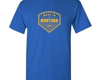 Made in Montana T Shirt - Royal