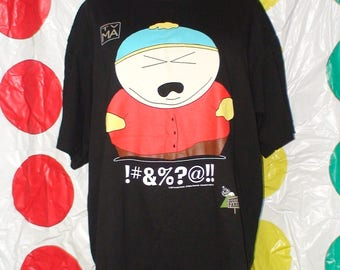 Vintage South Park Cartman T-Shirt!  90's!  Comedy Central!