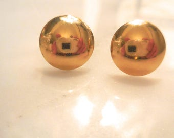 Earrings 14k Yellow Gold Studs