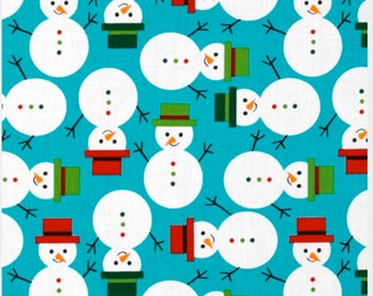 Robert Kaufman Jingle Snowmen #12405
