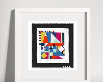 1981 Quilt Giclee Art Print