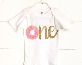 Donut Birthday Outfit, Donut Birthday Party, Girls Donut Birthday, Girls First Birthday Outfit, Donut Theme Birthday Party