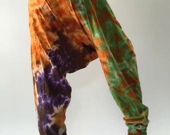 HL0055 Color splash Harem pants, Bohemian harem pants, boho style, Beach Skirt