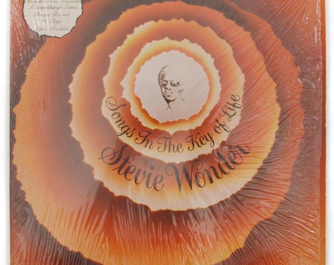 Vintage 70s Stevie Wonder Songs in the Key of Life Soul Double Album Record Vinyl