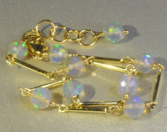 Ethiopian Opal Bracelet