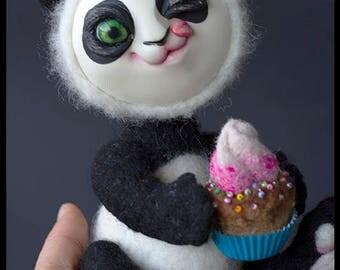 OOAK Panda Micky