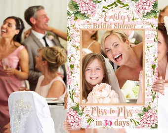 Bridal Shower Photo Prop - Wedding Photo Prop - Sweet Blooms Photo Prop - DIGITAL FILE - Baby Shower Photo Prop - Printed Option Available