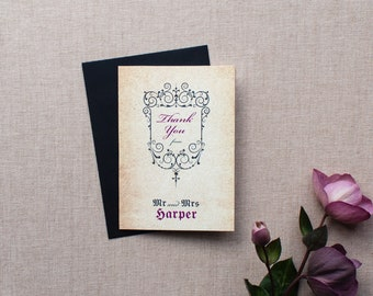 GISELLE // Wedding Stationery // Thank You Card