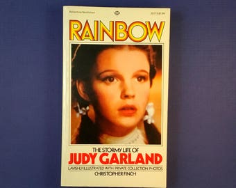 JUDY GARLAND BIOGRAPHY Paperback Book by Christopher Finch 1975