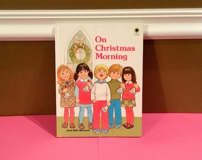1983 ON CHRISTMAS MORNING Children's Book