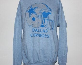 Vintage Dallas Cowboys NFL Crewneck Sweatshirt L
