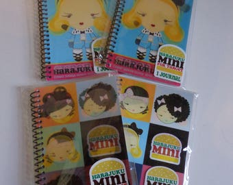 Collectible Kawaii Harajuku Lovers Mini Notebook Destash Sale! Cute Ephemera Stationery Paper New Package Party Favors Gifts