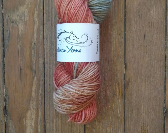 Paulie Worsted in Finch Flies North - Shalimar Yarns