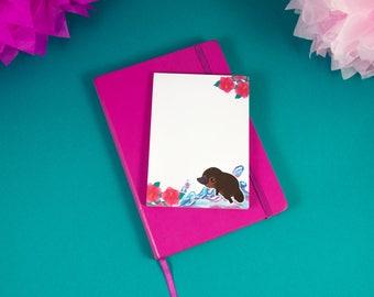 Small Cute Platypus Note Pad - Notepad - Memo Pad - Stationery