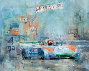 1970 – Porsche 908/3 at the Targa Florio