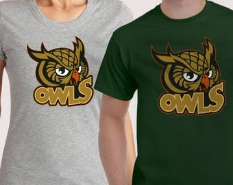 OWLS  t-shirt and sweatshirt