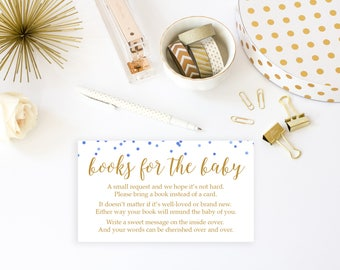 Bring a Book Card, Baby Shower Games Printable, Baby Shower Game, Baby Shower Invitation Insert, Printable Game, Book for Baby Game Card