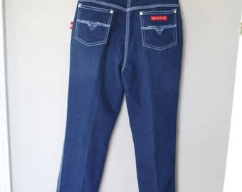 vintage 1980's braxton high rise waist womens mom jeans 26
