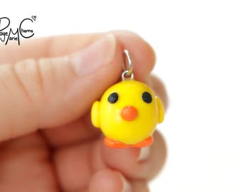 Quack Me Up Ducky - Polymer Clay Jewelry Charm