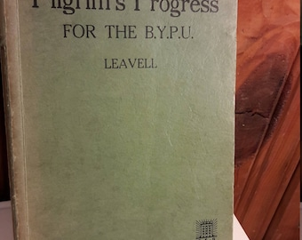 1920s Pilgrim's Progress - Paperback - Southern Baptist Convention - Old and Antique Religious Books