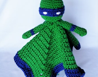 Ninja Turtle Inspired Lovey/Security Blanket