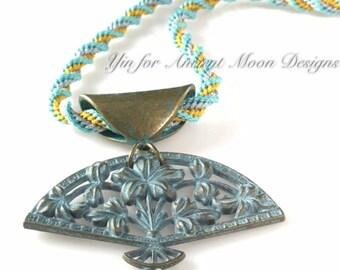 12 Strand Spiral  Kumi Necklace Kit