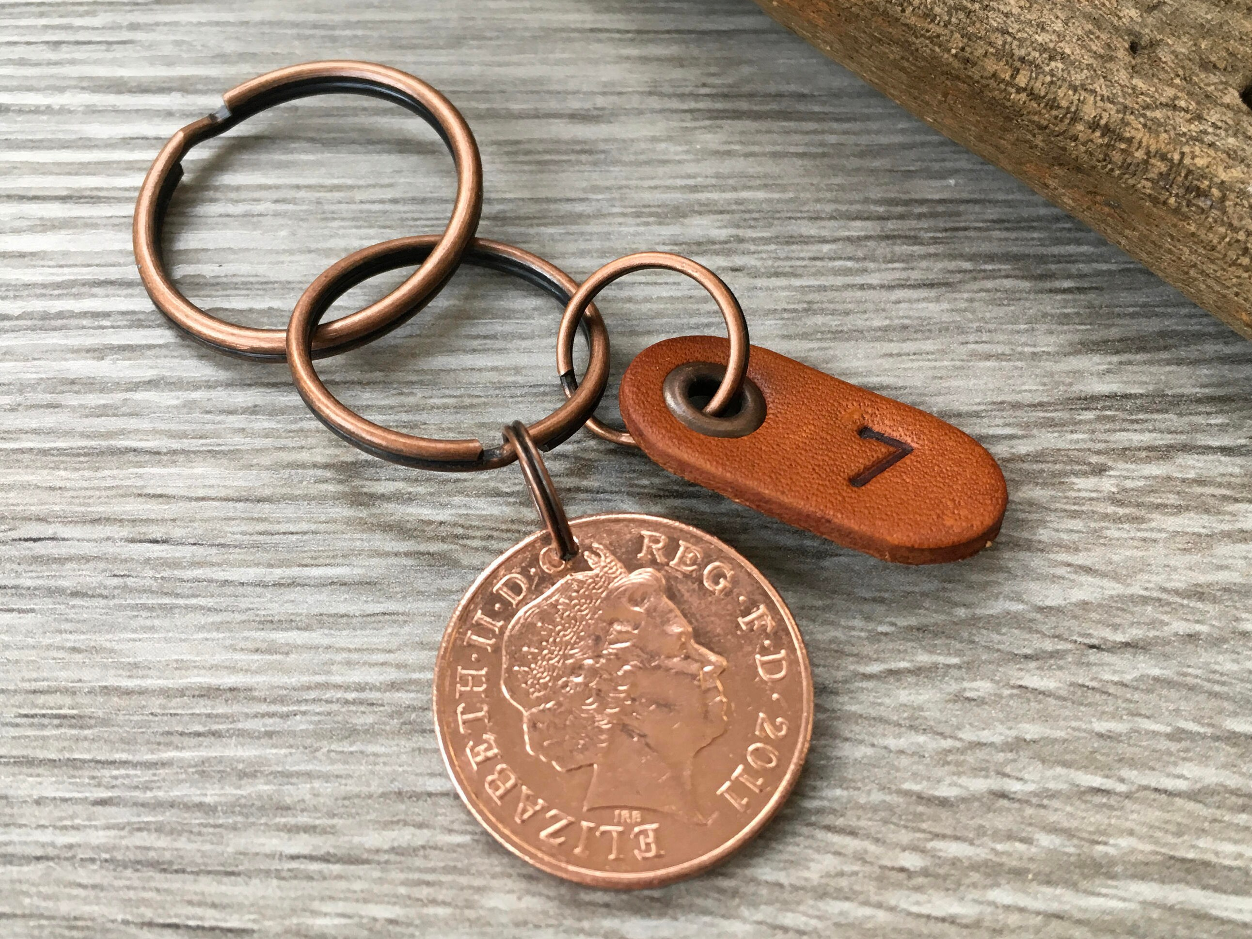 13 Wedding Anniversary Gifts For Him: 7th Anniversary Gift, Copper Wedding Anniversary, Seven 7