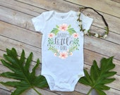 Daddy's Little Girl, Baby Shower Gift, Baby girl Gift, Granddaughter gift, Daddy shirt, Baby girl gift, Boho Baby, Daddy's Girl, Niece Gift