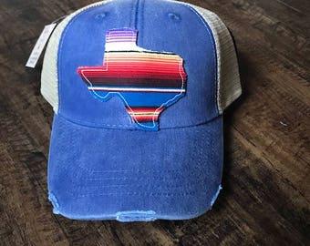 Serape Texas Trucker