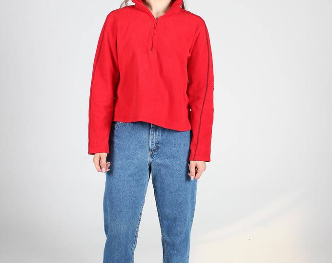 Red Tommy Hilfiger Track Top
