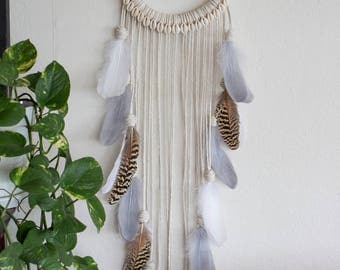 Natural Dreamer with cowrie shells