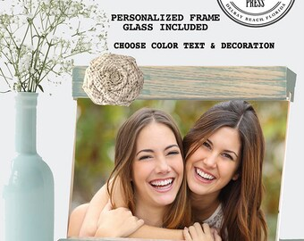 Friend Frame gift for best friend personalized photo frame, Best friends frame with names, besties frame, friendship rame, christmas gift