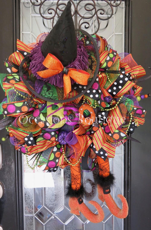 Halloween Mesh Ribbon