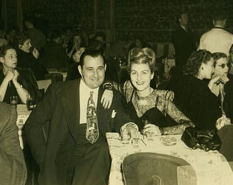 Instant Download Estimated 1940s vintage photo picture friends family couple party Printable Vintage art print